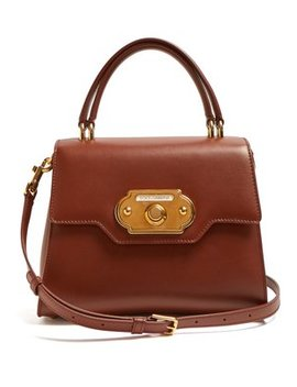 Welcome Medium Leather Bag by Dolce & Gabbana