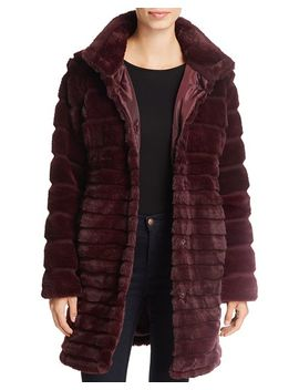 Lush Chubby Faux Fur Puffer Coat by Via Spiga