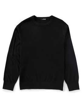 Performance Textured Crew Sweater by Murano