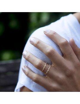 Dainty Braid Gold Ring, Minimalist Simple Ring, Minimal Ring, Tiny Ring, Stacking Ring, Thin Gold Ring, Stackable Ring, Minimalist Ring by Etsy