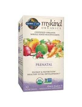 Garden Of Life My Kind Organic Prenatal Daily Multivitamin Tablets   30ct by Garden Of Life