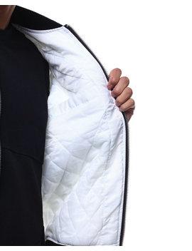 Bomber Jacket W Zipper Detail by Buyers Picks