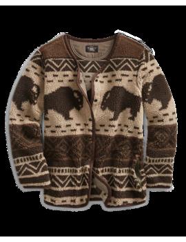 Print Fleece Liner Jacket by Ralph Lauren