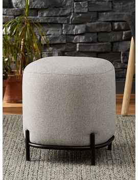 Modern Upholstered Stool by Torre & Tagus