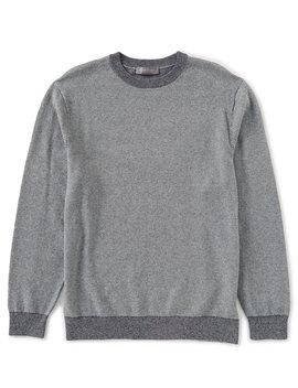 Daniel Cremieux Signature Birdseye Sweater by Cremieux