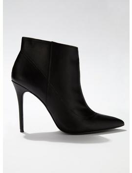 Black Alton Pointed Stiletto Boots by Miss Selfridge
