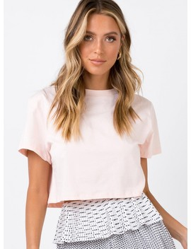 The Polly Tee Soft Pink by Princess Polly