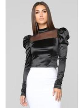 Breathin' Long Sleeve Top   Black by Fashion Nova
