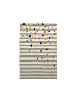 Sprinkles 4x6' Striped Rug by Crate&Barrel