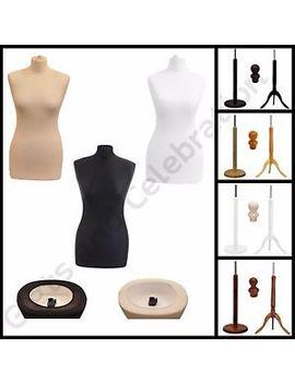 Tailor Dummies Dummy Dressmaker Mannequin Bust Display Stand Female by Ebay Seller