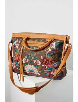Delphine Floral Weekender Bag by Johnny Was