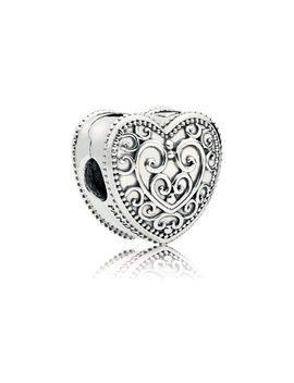 Enchanted Heart Clip by Pandora