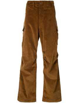 Corduroy Cargo Trousers by E. Tautz