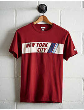 Tailgate Men's Nyc Chest Stripe T Shirt by American Eagle Outfitters