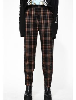 Right Reasons Plaid Pants by Honey Punch