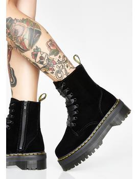 Jadon Velvet Boots by Dr Martens