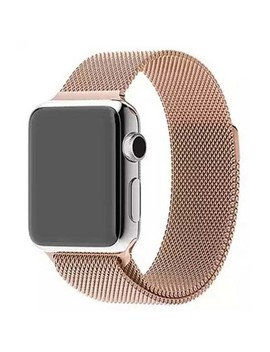 I Pm Milanese Mesh With Magnet Closure Replacement Bracelet For Apple Watch by I Pm
