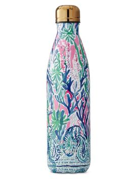 X Lilly Pulitzer® Jet Stream 25 Ounce Stainless Steel Water Bottle by S'well