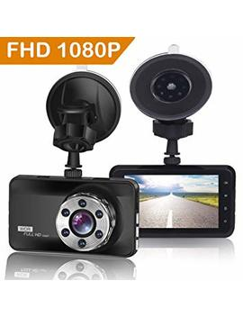 "Orskey Dash Cam 1080 P Full Hd Car Camera Dvr Dashboard Camera Video Recorder In Car Camera Dashcam For Cars 170 Wide Angle Wdr With 3.0"" Lcd Display Night Vision Motion Detection And G Sensor by Orskey"