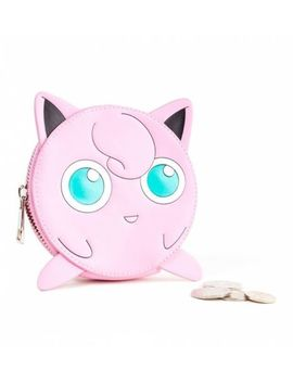 Official Pokemon Jigglypuff Coin Purse by Truffle Shuffle