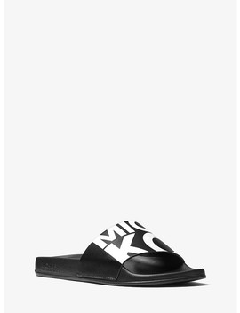 Gilmore Graphic Logo Slide by Michael Michael Kors