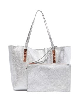 Pionila Leather Tote by Ted Baker London