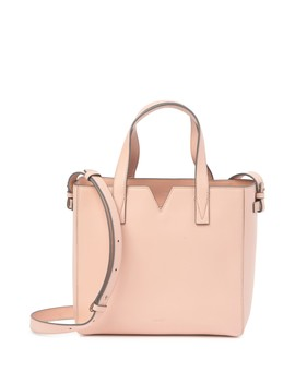 Signature V Baby Ew Leather Tote Bag by Vince