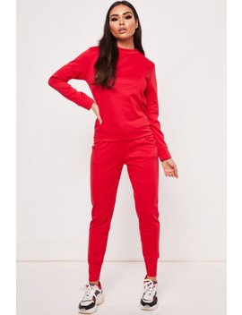 Gill Red Loungewear Set by Misspap