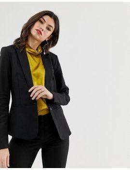 Y.A.S Ecco Tailored Blazer Jacket In Black by Y.A.S.
