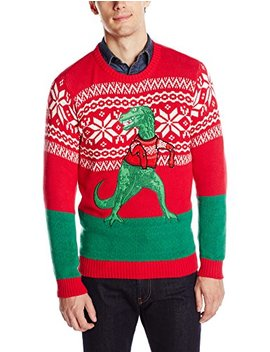 Blizzard Bay Men's Arms Too Short T Rex Ugly Christmas Sweater by Blizzard+Bay