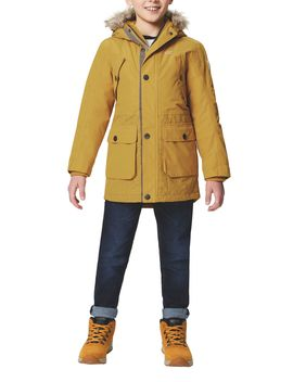 Payton Boys Waterproof Hooded Parka by Regatta