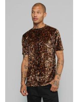 Lionel Short Sleeve Knit Top   Leopard by Fashion Nova
