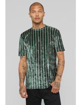 Lane Short Sleeve Top   Olive/Combo by Fashion Nova