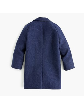 Boys' Marled Wool Blend Topcoat by J.Crew