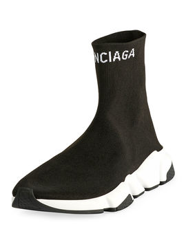 Men's High Top Speed Sneaker by Balenciaga