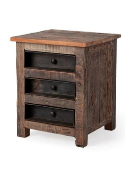 Loon Peak Blairwood 3 Drawer Nightstand by Loon Peak