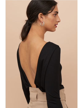 Body With A Low Cut Back by H&M