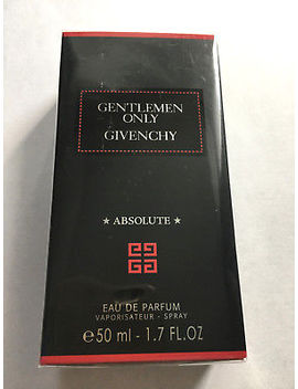 Gentlemen Only Absolute By Givenchy Perfume Edp 1.7 Fl.Oz (50 Ml) by Givenchy