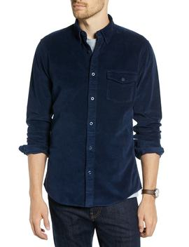 Ivy Trim Fit Corduroy Sport Shirt by 1901