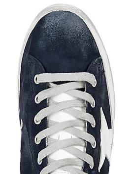 Women's Francy Suede Sneakers by Golden Goose