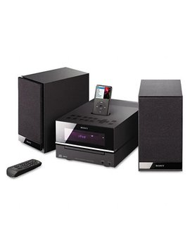 Sony Cmtbx20i Micro Hi Fi Shelf System (Black) (Discontinued By Manufacturer) by Sony