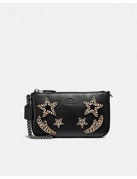 Nolita Wristlet 19 With Crystal Embellishment by Coach