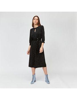 Warehouse   Star Print Midi Dress by Warehouse