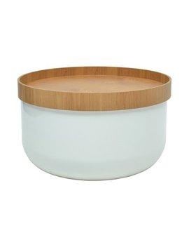 Bowl Side Table, White by Francodim