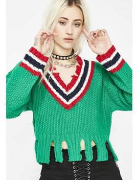 Jock Diaries Cropped Sweater by Signature 8