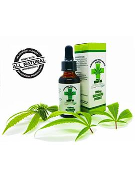Hemp Oil For Pain Relief   Stress Support, Anti Anxiety, Sleep Supplements   Herbal Drops   Rich In... by Natural Wellness Center / Hemp Oil 1500mg / Hemp Oil For Pain / Stress Relief / Mood Support