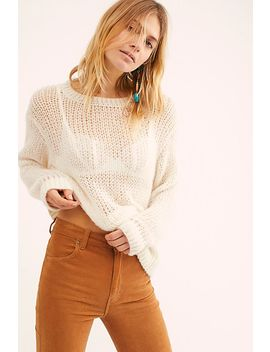 Light And Lofty Sweater by Free People