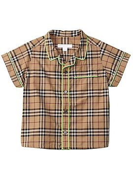 Burberry Boys' Check Woven Shirt by Burberry