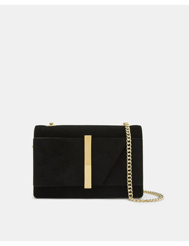 Giant Bow Leather Cross Body Bag by Ted Baker