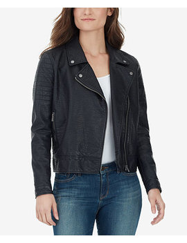 Alexa Faux Leather Moto Jacket by William Rast
